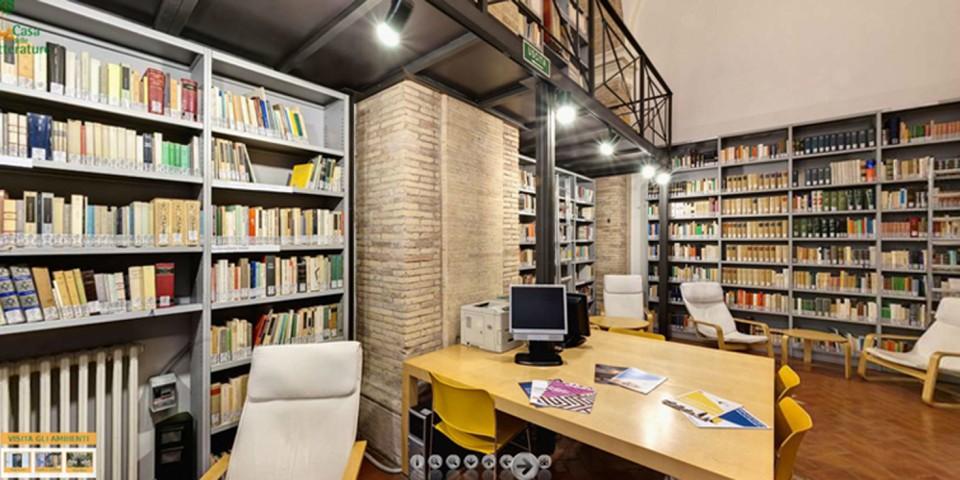 biblioteca orologio