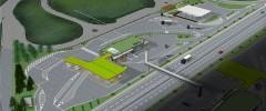 Progettazione nuova area di servizio – Torino-Bardonecchia